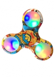Hand Spinner Comics leuchtend