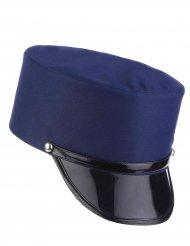 Offizierskappe blau