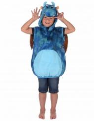 Blaues Drachen-Kostüm für Kinder