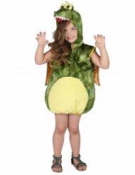 Grünes Dinosaurier-Kostüm für Kinder