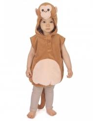 Weiches Affenkostüm für Kinder braun