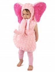 Rosa Elefanten Kostüm für Kinder