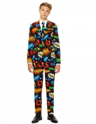 Mr. Comics Teenkostüm Opposuits™ schwarz-bunt