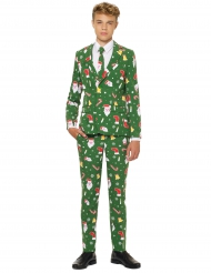 Mr. Santaboss Teenkostüm Opposuits™ grün-bunt