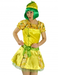 Peppiges Zitronenkostüm für Damen