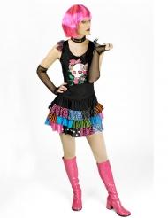 Punk-Kostüm für Damen