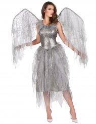 Engelkostüm barock in Silber