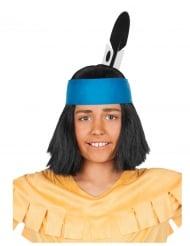Yakari™ Haarband mit Feder für Kinder