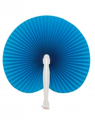 Papier-Fächer Kostümzubehör blau