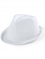 Borsalino-Hut für Kinder Kostümzubehör weiss