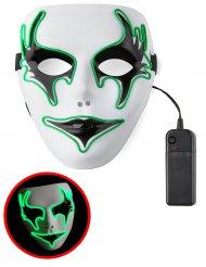Leuchtende Phantommaske neongrün