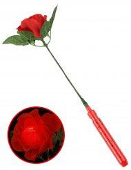 Leuchtende LED Rose 35 cm rot
