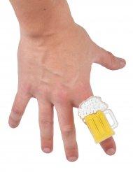 Leuchtender Bier Ring Oktoberfest