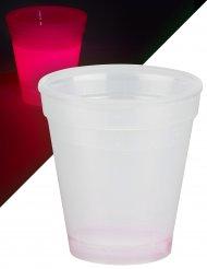 Leuchtglas in der Farbe Rot 250 ml