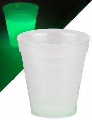 Leuchtglas 250 ml grün