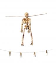 Skelett Girlande für Halloween