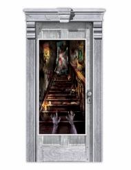 Zombie-Spukhaus-Türdekoration 165x85cm