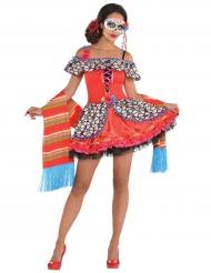Kostüm Dia de los Muertos für Damen