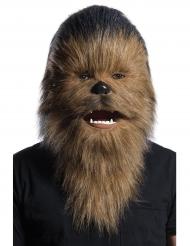 Star Wars™ Chewbacca Maske animiert für Erwachsene braun