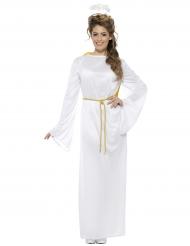 Weißer Engel Kostüm für Damen