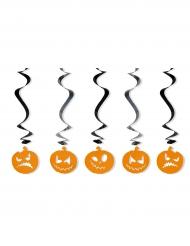 Hänge-Dekoration Kürbisse für Halloween 60cm