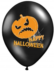 Latexballons Kürbisse für Halloween 6 Stück