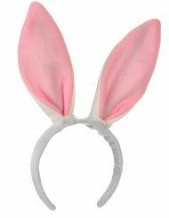 Kaninchenohren-Stirnband rosa