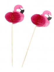 Flamingos Pieker 12 Stück 17.5cm