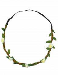 Elastisches Haarband mit Blüten