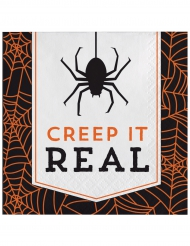 16 Papierservietten Halloween Creep it real