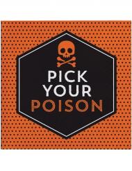 16 Papierservietten Pick your poison