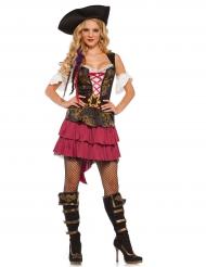 Sexy Barock-Piratenkostüm für Erwachsene