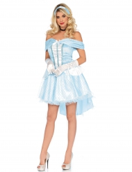 Prinzessinnen-Kostüm blau für Erwachsene