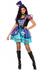 Prinzessinnen-Kostüm violett für Erwachsene