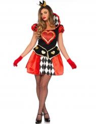 Kostüm Herz Dame für Damen