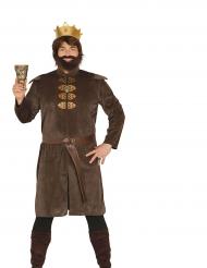 Kostüm Mittelalterkönig für Herren