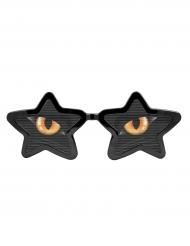 XXL Brille mit Katzenaugen