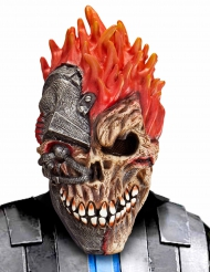 Maske Cyber-Schädel Erwachsene Halloween