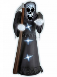 Sensenmann aufblasbar und leuchtend 244 cm Halloween