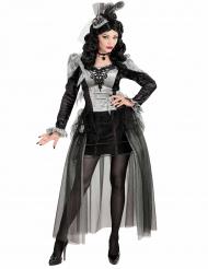 Vampirgräfin Damenkostüm für Halloween