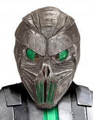 Maske galaktischer Cyborg grün Erwachsene