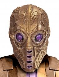 Maske goldener Roboter Erwachsene