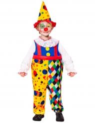 Mini-Clown-Kostüm gelb Junge