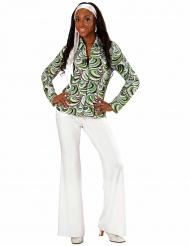 Groovy Shirt 70er Jahre für Damen