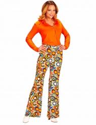 70er Jahre Schlag-Hose für Damen