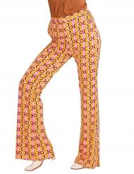 Verrückte 70er Jahre Schlag-Hose für Damen