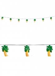 Palmen Girlande mit Licht 250 cm