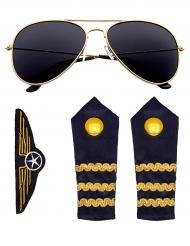 Piloten Accessoire-Set für Erwachsene