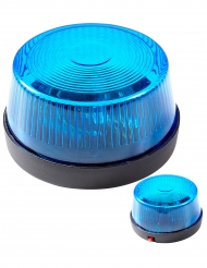 Notfall Sirene Polizei blau 7 x 4 cm