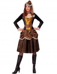 Steampunk Barock Prinzessin Kostüm für Damen